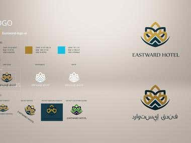 Branding for a luxury Saudi Arabia hotel