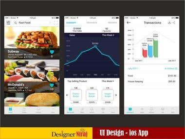 Restaurent ios App - UI/UX