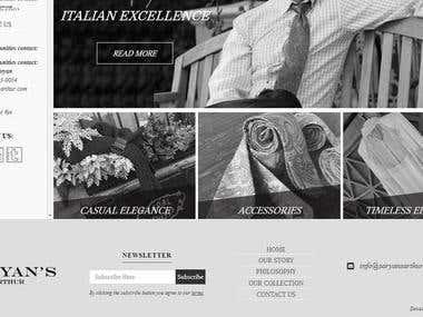 Saryans Arthur : Online Cloth Store