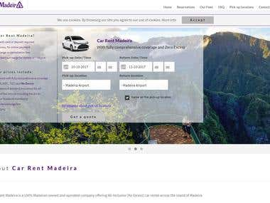 Multi-lingual Car Rental (customization of 3rd-party script)