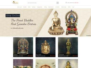 Statue Studio: eCommerce Website