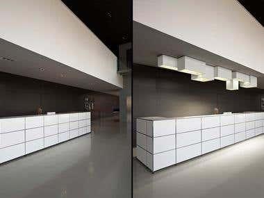 modern image of industrial design