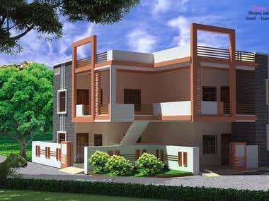 Residence at jhansi (u.p.)
