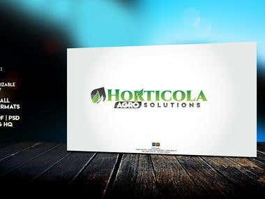 :: HORTICOLA Agro Solution Logo ::