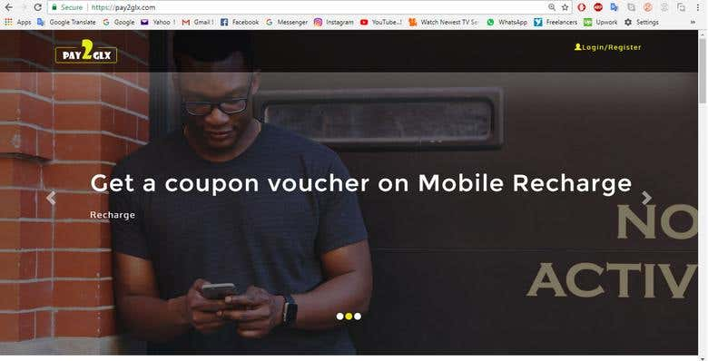 Online Mobile Recharge and Paying Bills | Freelancer