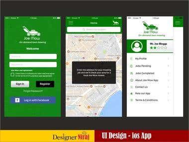 JoeMow ios App