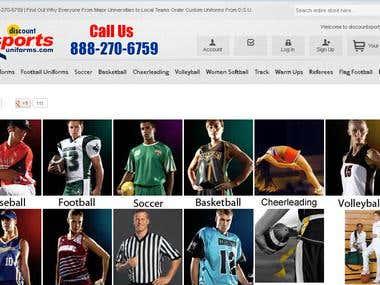 Magento Commerce site