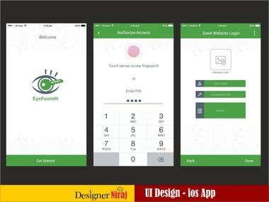 EyeFoundtIt ios App