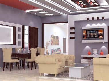 Residence interior at vidisha (m.p.)
