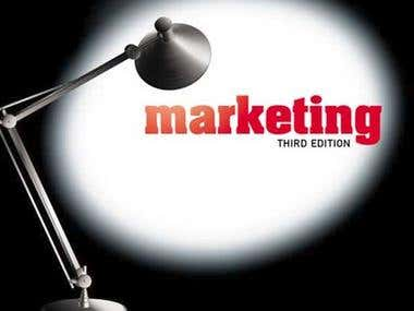 Editing of a commercial marketing publication