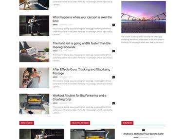 Develop website for News and Selling course martial.