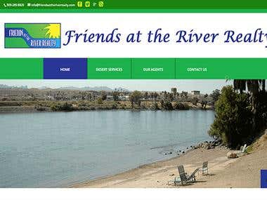 Friends At the River Reality | WordPress Project
