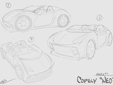 Vehicle Concept Art