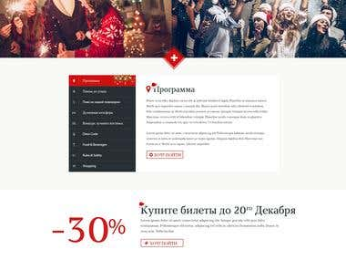 Create PSD for Landing page and convert same into HTML