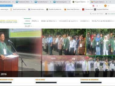 Proyek Web Universitas Sumatera Utara