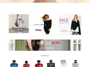 E-commerce Wordpress websites.