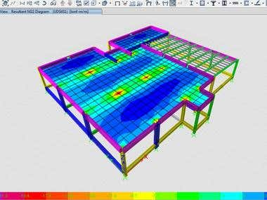 Strcutural analysis( small building need reviewing in etabs)