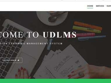 Universal Design Learning Management System