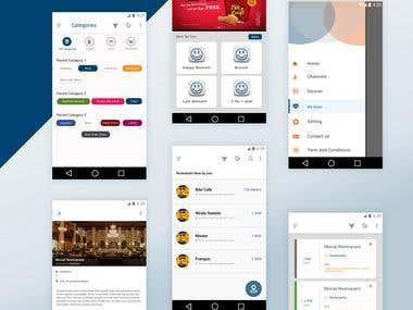 Lokallinn App UI