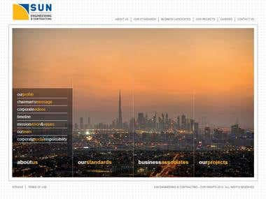 Sun Engineering Website