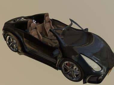 3D Design/Concept Cars: The Copely NEO