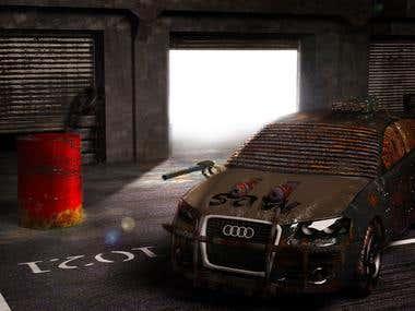 Audi A3 Conceptial Art