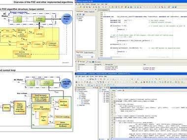Control engineering, Microcontroller & Embedded Software