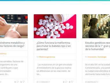 Redacción de artículos sobre Medicina Genómica