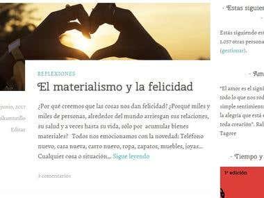 Blog sobre amor y relaciones