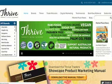 Thrive Traders | WordPress Project