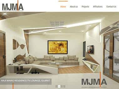 MJMA | WordPress Project