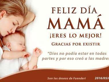 Tarjeta Día de las Madres