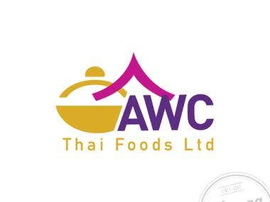 AWC Thai Foods Logo