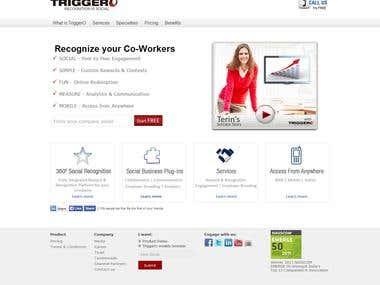 Triggero Website