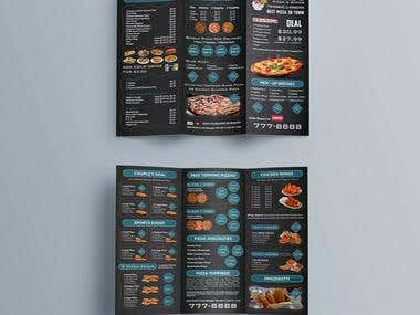 Restaurant Manu Brochure