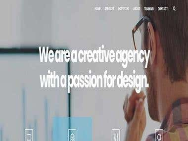 IT COMPANY WEBSITE (WordPrss)