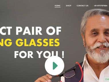 iryz-customized eCommerce glasses store