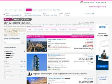 Flight Deals Web Site