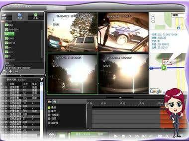 Manging Ip camera Desktop app