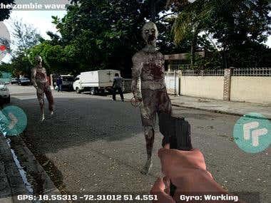 AR Zombie War