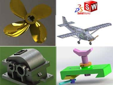 3D design and modelling