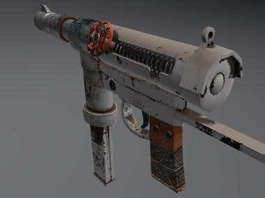 3D Models: Homemade Machine Gun