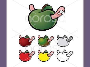 Vector Cartoon Illustrations