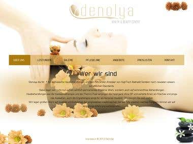 Landing page, Home page, Website design