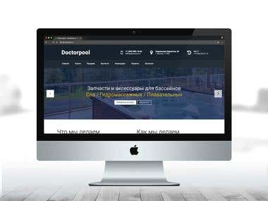 Corporate web-site DOCTORPOOL (http://doctorpool.ru)