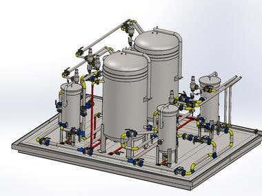 Process Piping in Solidworks