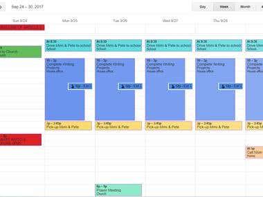Calendar Management