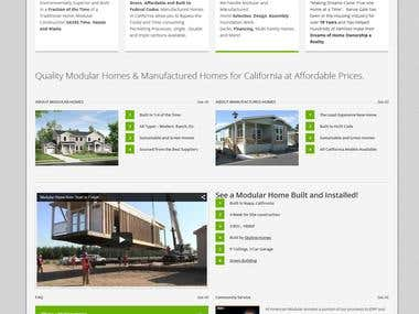 All American Modular Website