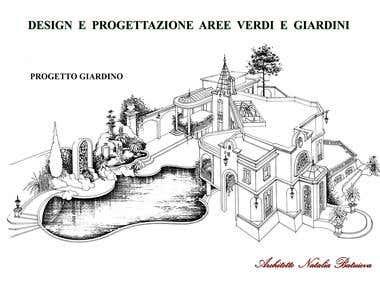 Landscape Design Projects. Conceptual Ideas for Landscape.