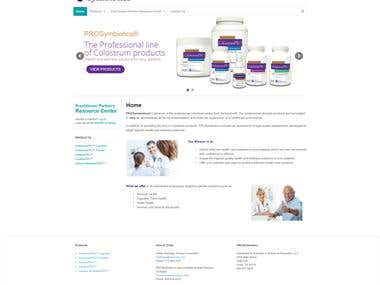 ProSymbiotics Website Project